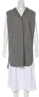 Akris Punto Wool Houndstooth Vest