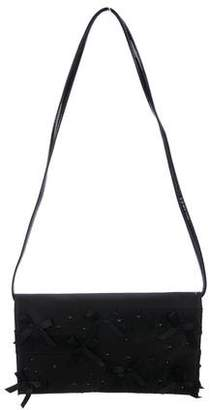 Prabal Gurung Embellished Satin & Lace Shoulder Bag