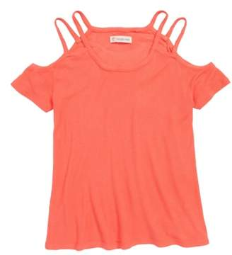 Tucker + Tate Strappy Cold Shoulder Tee