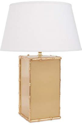 Dana Gibson Bamboo Table Lamp - Taupe