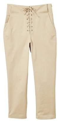 MANGO Soft cord trousers