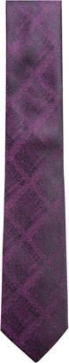 Alfani Men's Plaid Slim Silk Tie