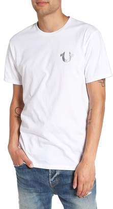True Religion Brand Jeans Silver Buddha T-Shirt