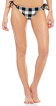 La Blanca Tres Chic Tie Side Cheeky Hipster Bottom $51 thestylecure.com
