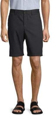 Calvin Klein Side-Stripe Cotton Shorts