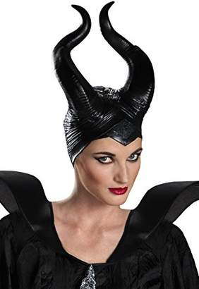 Disguise Women's Disney Maleficent Movie Maleficent Deluxe Adult Horns Costume Accessory