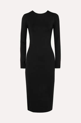 Ninety Percent - Stretch-tencel Dress - Black