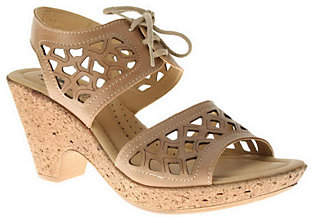 Spring Step Style Lamay Leather Quarter Strap S andals