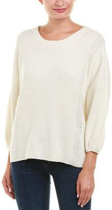 Ella Moss Ribbed Wool-Blend Sweater