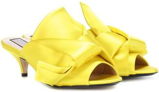 N°21 Ronny satin sandals