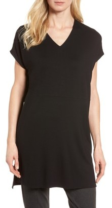 Women's Eileen Fisher Jersey Tunic $158 thestylecure.com