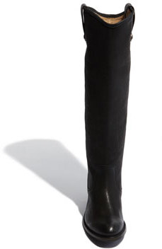 Frye 'Jackie Button' Leather Riding Boot