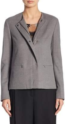 Akris Punto Women's Wool A-Line Jacket