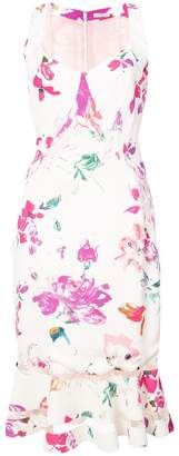 Ungaro fitted floral dress