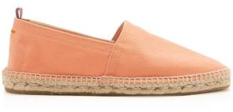 Castaner Canvas Espadrilles - Mens - Orange
