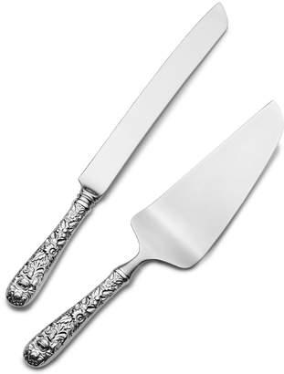 Kirk Stieff Wedding Cake Knife and Server Set