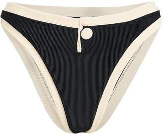 Same Swim Grace High-Rise Bikini Bottoms