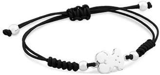 Tous Bear Nylon Cord Bracelet
