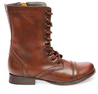 Steve Madden Stevemadden TROOPA BROWN LEATHER