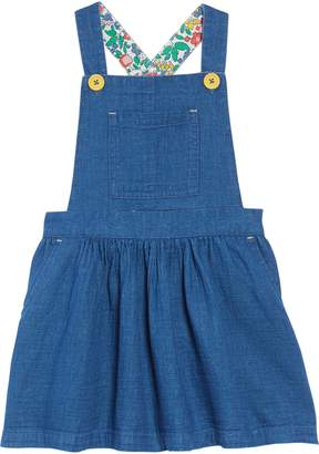 Boden Mini Dungaree Overall Dress