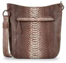 Nancy Gonzalez Python Crossbody Bag