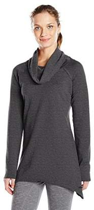 Andrew Marc Performance Women's Marc NY Performance L/s Shark Bite Cowl Neck Tunic