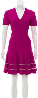 Fendi V-Neck A-Line Dress