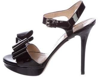 Valentino Bow Platform Sandals