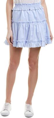ENGLISH FACTORY Smocked Ruffle Skirt