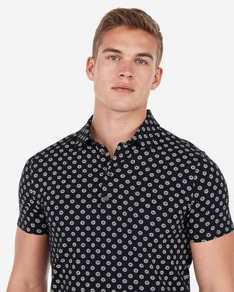 Express Printed Moisture-Wicking Performance Stretch Polo