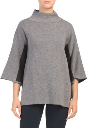 Made In Italy Dolman Sleeve Poncho