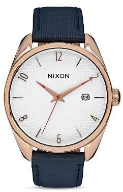 Nixon Bullet Leather Watch, 38mm