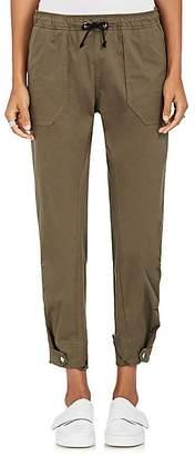 Tim Coppens Women's Drawstring-Waist Stretch-Cotton Cargo Pants