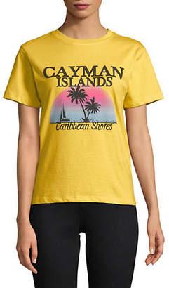 Topshop Cayman Island Printed T-Shirt