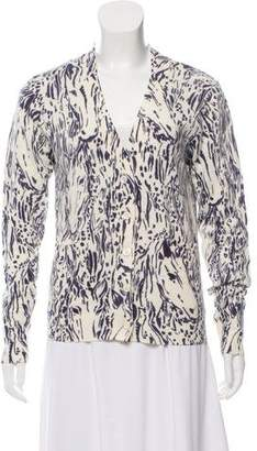 See by Chloe Printed Button-Up Cardigan