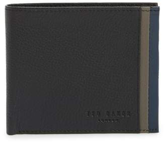 Ted Baker Snapper Colored Leather Wallet