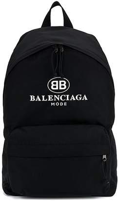 Balenciaga Black Explorer Mode Backpack