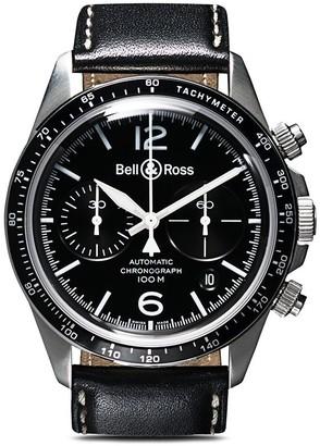 Bell & Ross BR V2-94 Black Steel Chronograph 41mm