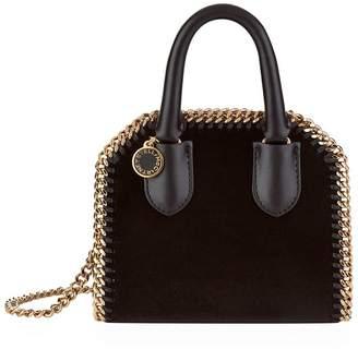 Stella McCartney Mini Velvet Falabella Box Grab Bag