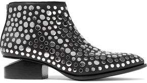 Alexander Wang Kori Studded Leather Ankle Boots
