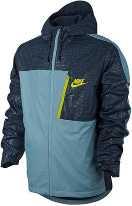 Nike Men's Advance Zip Hooded Jacket $80 thestylecure.com