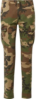 Amiri Stack Camouflage-print Stretch-cotton Skinny Pants