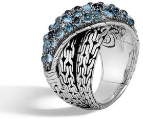 John Hardy Classic Chain Crossover Ring