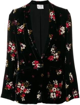 Forte Forte floral velvet blazer