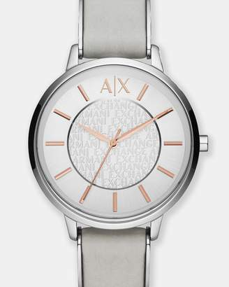 Armani Exchange Grey Analogue Watch
