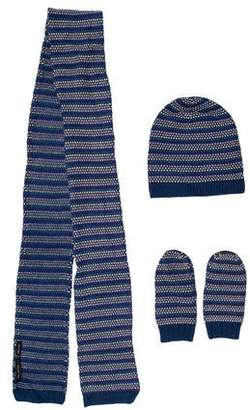 Marc Jacobs Cashmere Scarf Set