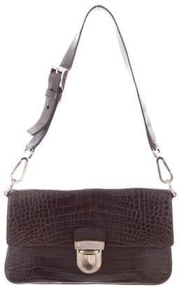63149ce12a0c Prada Flap Shoulder Bag - ShopStyle