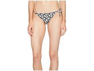 Stella McCartney Iconic Prints Tie Side Bikini Bottom Women's Swimwear