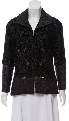 Chanel Quilted Lurex Jacket w/ Tags