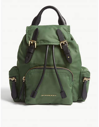 Burberry Racing Green Small Backpack